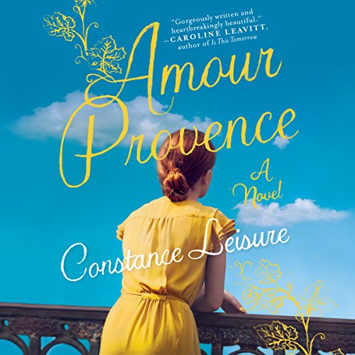 Amour Provence audiobook cover art