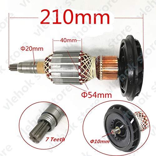 Corolado Spare Parts, 7 Teeth AC220-240V Armature Rotor GSH11E Replace for Bosch GBH11DE GSH GBH 11E 11DE Hammer Drill Engine Motor - (Spec: 1PCS)