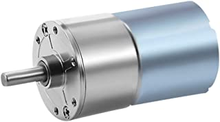 uxcell 12V DC 100RPM Gear Motor High Torque Electric Micro Speed Reduction Geared Motor Centric Output Shaft
