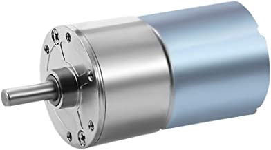 uxcell 12V DC 550RPM Gear Motor Electric Micro Speed Reduction Geared Motor Centric Output Shaft