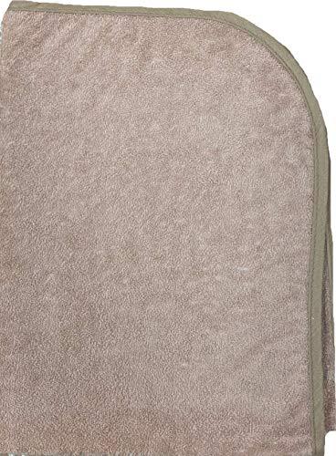 【選べる4色11サイズ】防水シーツ (60×90cm)ベビー ロングパイル おねしょシーツ ロング綿パイルの防水シーツ/モカ