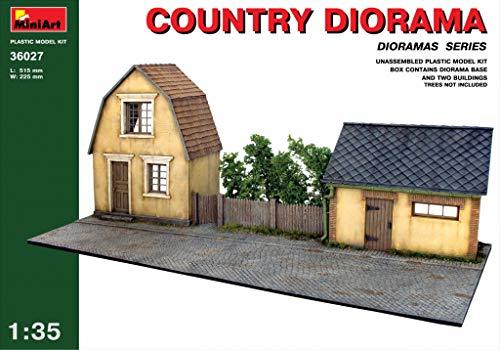 MiniArt Echelle 1 : 35 Kit de Construction Country Diorama (Multicolore)