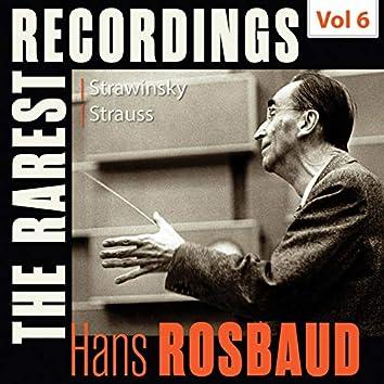 Milestones of a Legend: The Rarest Recordings – Hans Rosbaud, Vol. 6