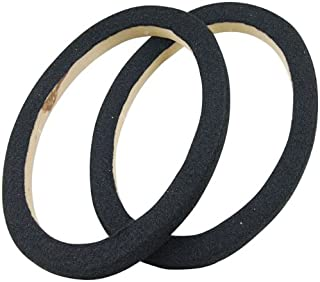 AUDIOP RING69CBK Nippon 6 in. x 9 in. MDF Ring with Black Carpet Pair Packed