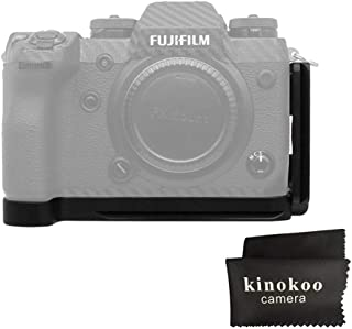 kinokoo L Platte für Fuji X H1 Schnellwechselplatte Fujifilm X H1 Halterung Griff