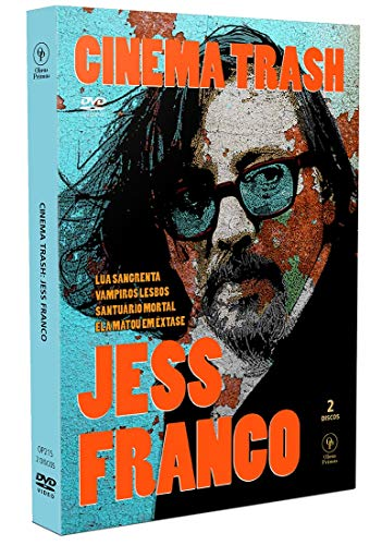 Cinema Trash - Jess Franco [Estojo amaray com Luva - 2 DVD's]