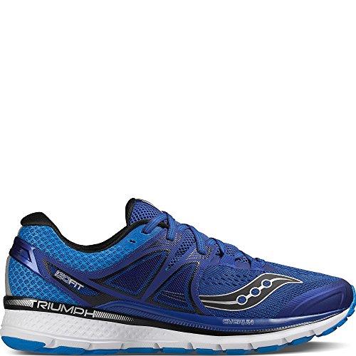 Saucony Triumph Iso 3, Scarpe Running Uomo, Multicolore (Azul Oscuro/Azul/Blanco/Plata), 44 EU
