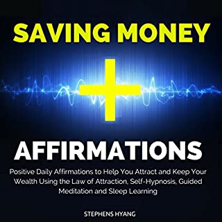 Saving Money Affirmations audiobook cover art