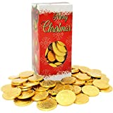 Best Chocolate Coins - Fruidles Christmas Candy Stocking Stuffers, Milk Chocolate Half Review