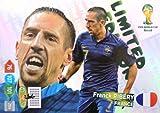 Panini ADRENALYN XL Copa del Mundo 2014 Brasil - Ribery Francia Limitado Edition