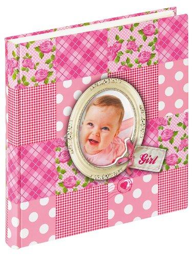 Walther UK-115-R Babyalbum Patchwork Girl, 28 x 30.5 cm, rosa