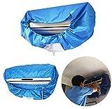 Aire Acondicionado Limpieza Cubierta Impermeable, Bricolaje Polvo Lavado Limpio Protector Bolso por 1P-1,5P Aire Acondicionador