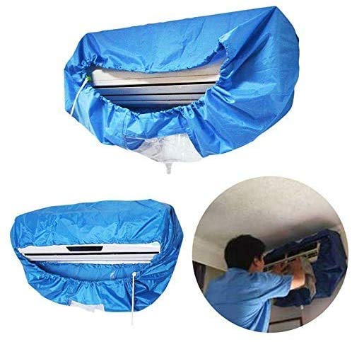 XING Air Conditioner Cleaning Cover Waterproof, DIY Dust Washing Clean Protector Bag for 1P-1.5P Air Conditioner