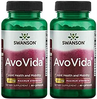 Swanson Ultra Maximum Strength AvoVida 300 mg -- 2 Bottles each of 60 Capsules by Swanson Ultra
