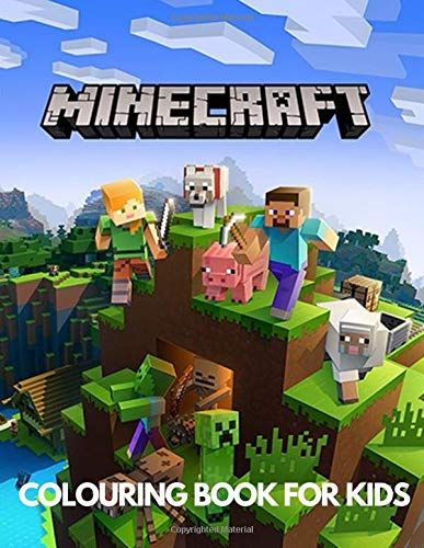 Minecraft Colouring Book for Kids: Amazing Coloring Book for Boys & Girls, Minecraft Books for Children