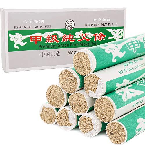 Rollos para moxibustión suave (caja de 10 rollos) – 1 caja