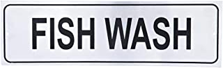 Raj Sign Board Fish Wash, 26 Cm, Silver-Lp0022