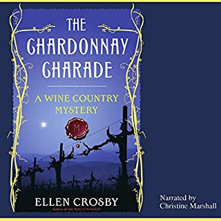 The Chardonnay Charade audiobook cover art