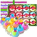 12-Pack Surprise Bath Bomb Gift Set