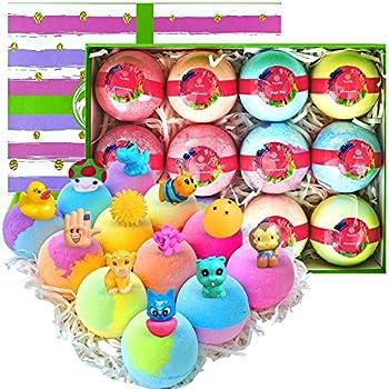 12-Pack Surprise Bath Bomb Gift Set