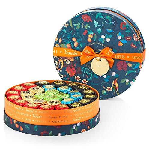 Venchi Kollektion Gemme – Geschenkset mit verschiedenen Chocoviar Pralinen, 1,17-kg-Maxi-Hutbox – glutenfrei