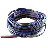 SIM&NAT 10M/32.81Ft RGB Led Strip Extension Cable Line for 3528 5050 RGB