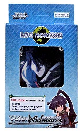 Weiss Schwarz TCG Card Game - LOG HORIZON Starter Trial Deck English Version - 50 cards by Weiss Schwarz