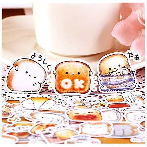 40pcs Creative Cute Self-Made Bread Story/Food Scrapbooking Stickers/Decorative Sticker/DIY Craft Photo Albums Kawaii