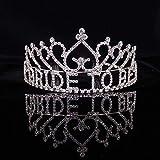 Pelo de la Boda Tiara cristalina del Rhinestone de la Tiara de la Corona Nupcial Peine cumpleaños Cinta de Cabeza para la Mujer
