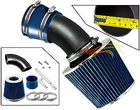 RW SERIES - MATTE BLACK PIPE BLUE - SHORT RAM INTAKE Compatible For 98-05 BMW E46 3-SERIES