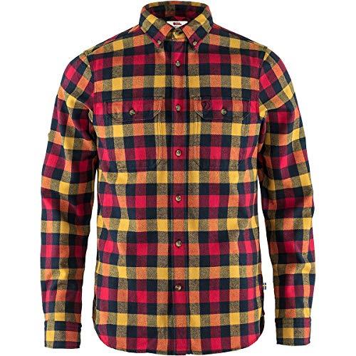 FJALLRAVEN Herren Skog Shirt M Hemd, rot, 2XL