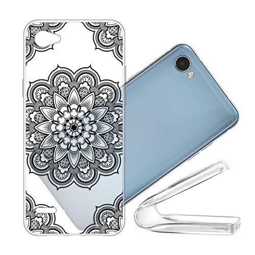 vingarshern Funda para LG Q6 Plus Carcasa Silicona Suave,TPU Gel Cover Protector,Ultra Fina Anti-Choque Estuches Cubierta Case LG Q6 Plus Funda Protectora(Cover-20)