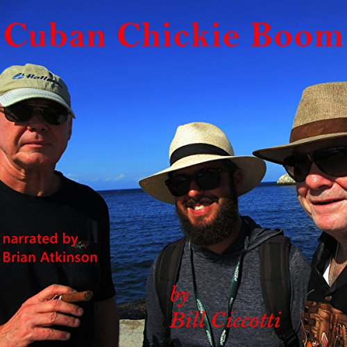 Cuban Chickie Boom audiobook cover art