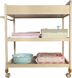 WEHOLY Baby Diaper Table Touching Table Shower Stand Removable Multifunction Nursing Desk Gift Mat Load 92CM