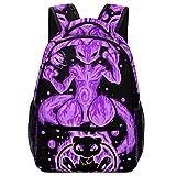 Mewtwo And Mew School Backpack Children's Bag Bookbag 3D Prints Backpack for Boys Girls
