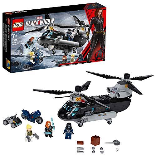 LEGO Marvel Black Widows Hubschrauber Verfolgungsjagd