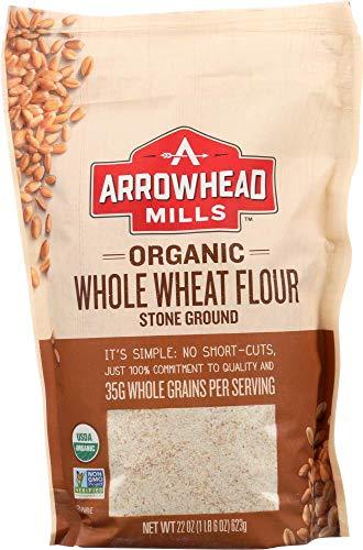 Arrowhead Mills Flour Stone Ground Wheat Organic, 22 oz