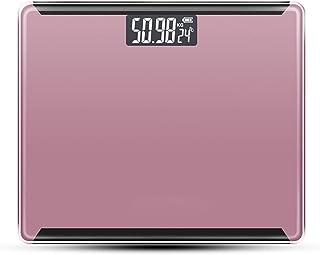 Básculas,Delgadas Básculas Peso Corporal baño con alfombras Antideslizantes Pies USB Salud Básculas Bajar Peso Básculas Peso Corporal Capacidad Grasa Corporal 180 kg/400 LB(Color:A)
