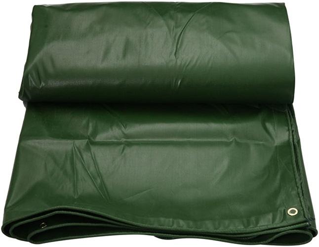 AJZXHE Bache rembourrée imperméable à l'eau de Prougeection Solaire Tente Tente Tissu Hangar Tissu résistant à l'usure Anti-oxydation léger PVC Vert -Tente