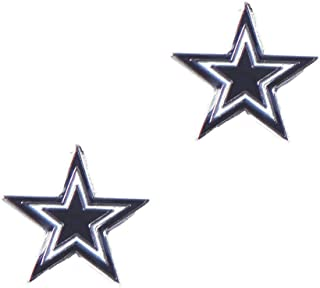 aminco Dallas Cowboys Post Stud Earring Set Charm