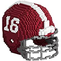 Foco NCAA 3D Mini Football Helmet (Alabama) (1325 Blocks)