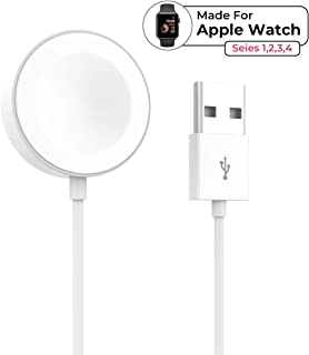 Smart Watch Charger for Apple Watch Portable Latest Version iWatch Charger USB Magnetic Charging Cord Suitable for Series 4 3 2 1 All 38mm/40mm/42mm/44mm