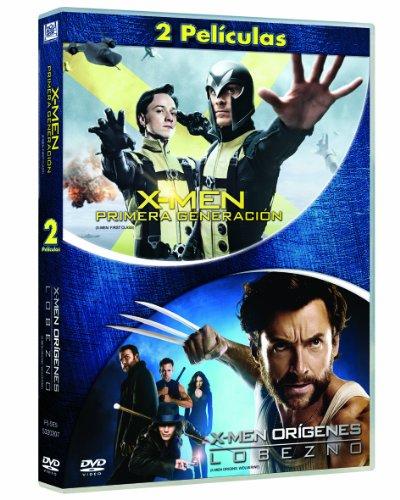 X-Men Primera Generación + Lobezno [DVD]