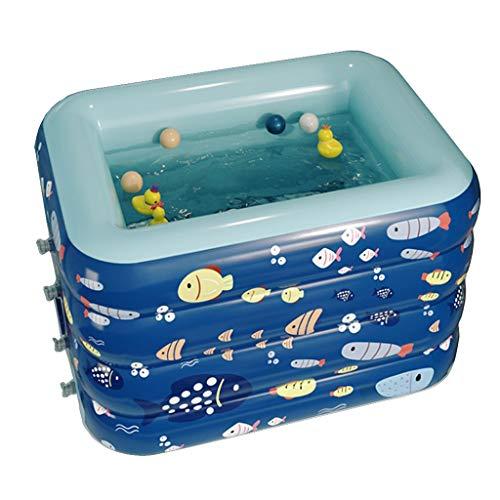 Juguetes para Baby Shower bañera Inflable para bebés Respaldo para Adultos bañera portátil para bebés Mini Piscina de Aire Plato de Ducha Plegable para niños con Bomba de Aire