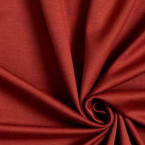 Tela de jersey romaní Clásica – terracotta — Mercancia al metro a partir de 0,5m — Oeko-Tex Standard 100 Clase del producto II — para coser de Vestidos, Tops y Leggings