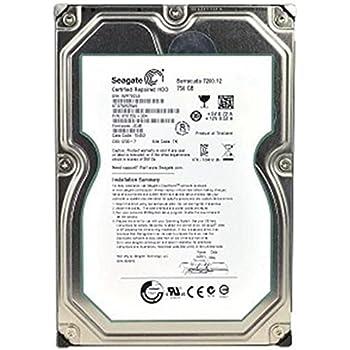 Seagate Barracuda 7200.12 750 GB 7200RPM SATA 6Gb/s with NCQ 32MB Cache 3.5 Inch Internal Bare Drive ST3750525AS