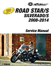 LIT-11616-21-68 2008-2014 Yamaha XV17 RoadStar S XV17 Road Star Silverado S Motorcycle Service Manual