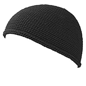 CHARM イスラムワッチ 帽子 [ フリーサイズ/ブラック ] コットン/ニット帽/キャップ/夏/メンズ/レディース