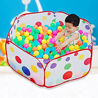Toys&Hobbies 1m Foldable Toy Tent Colorful Balls Ball Pool Game House with Balls for Kids Children