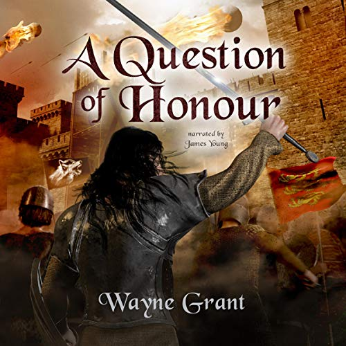 A Question of Honour audiobook cover art
